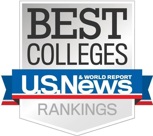 Best College US News Rankings logo